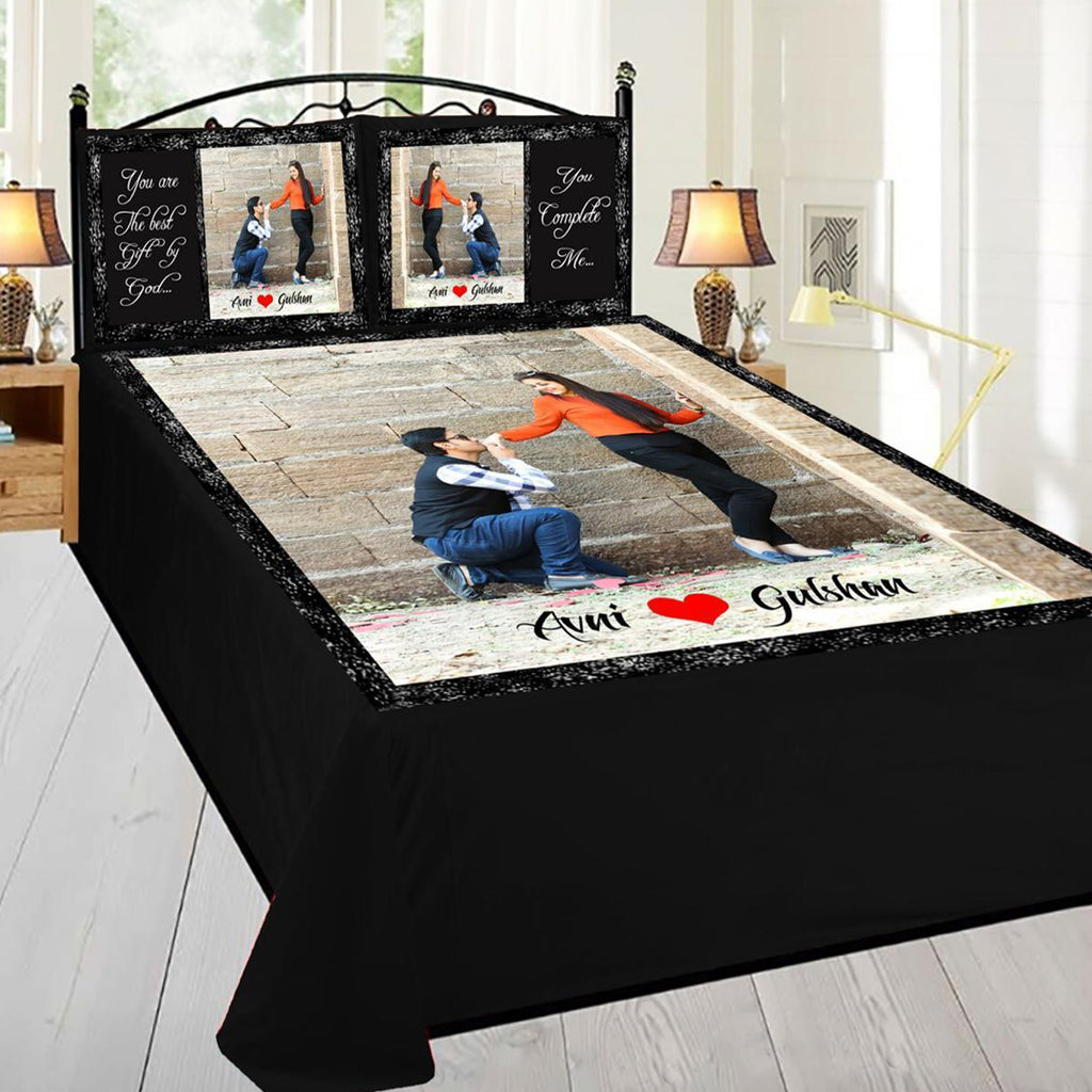 Buy Your Own Personalized Photo Printing Bed Sheets | Zestpics, India