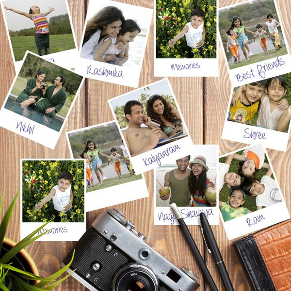 Polaroid Prints | Print Polaroid Prints Online in India at Zestpics
