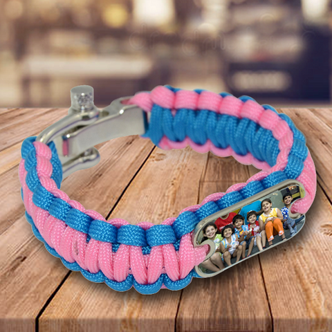 Personalized Premium Friendship Bands | Personalized Paracord Bracelets