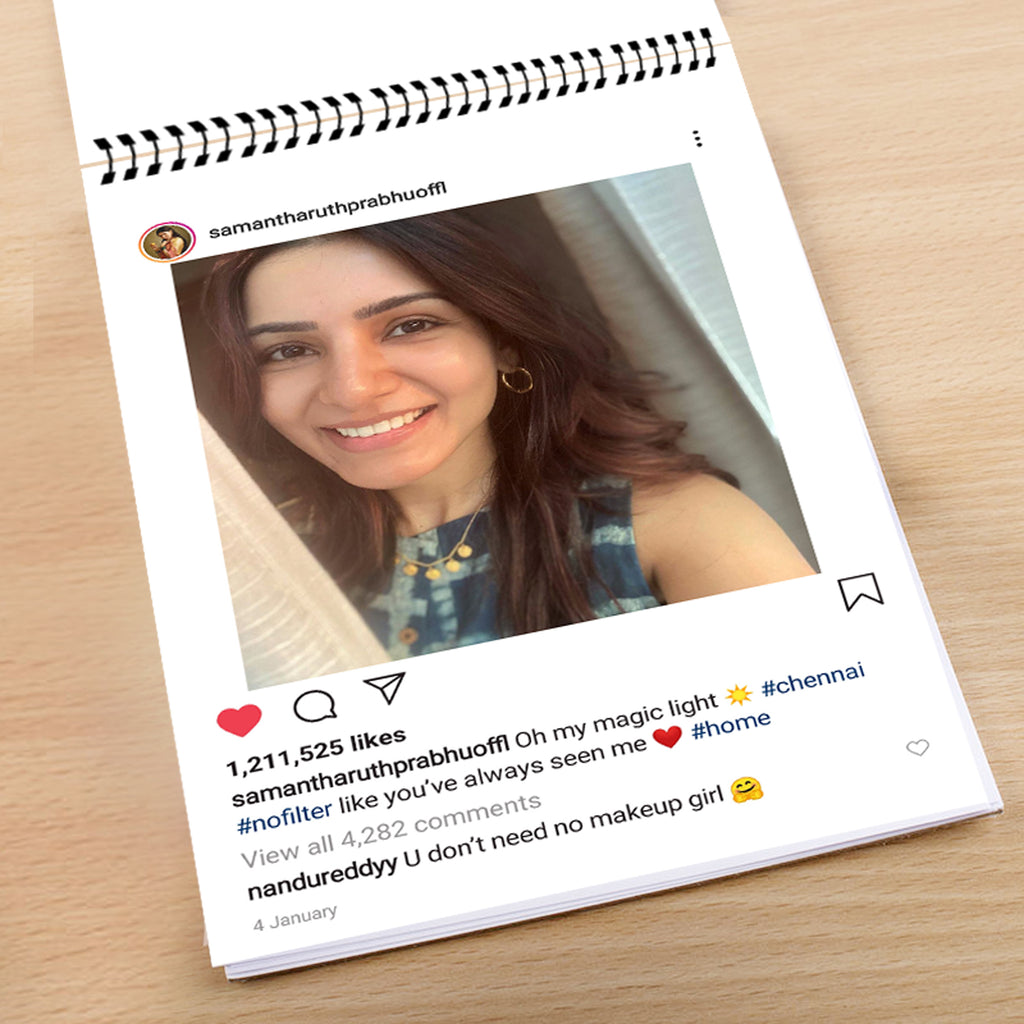 Get your Instagram Memories printed in to FlipBook from Zestpics