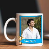 Buy Premium Quality Custom IPL Mug online in India at Zestpics. Get a customized Rajasthan Royals IPL Mug with photo, your favorite team, favourite color, favourite player, birthplace, loves to eat, favourite game