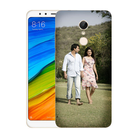 Buy Personalized Redmi 5 Mobile Back Covers/Cases. Design your own Customized Mobile Case for Redmi 5 with your own Photos, Text online & Make it Unique. Customize Now! Buy Custom Printed Personalized Mobile Covers/ Skins in India at Zestpics. Mobile Skins, Customized Mobile Phone Skins online in India.