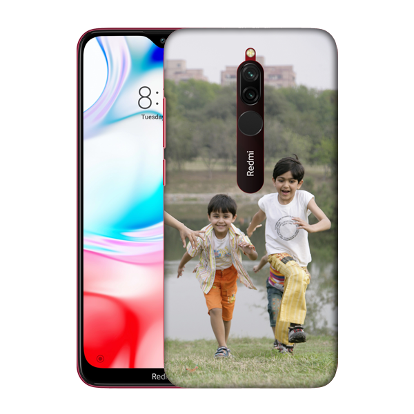 Buy Customised Redmi 8 Mobile Covers/ Cases Online India - Zestpics