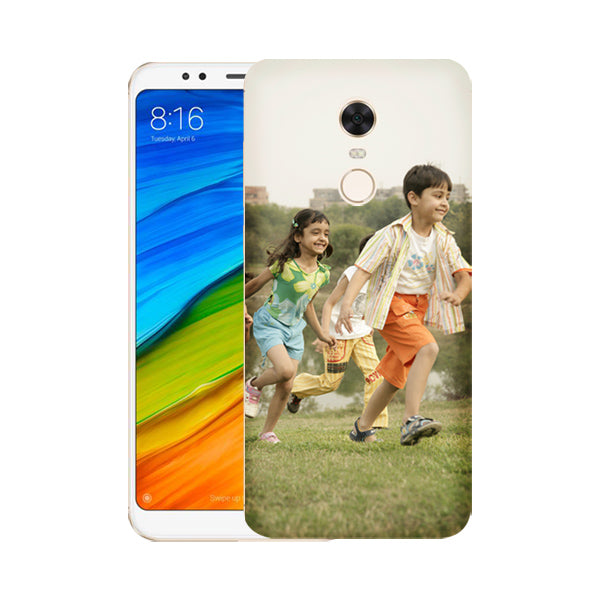 Buy Personalized Redmi Note 5 Mobile Back Covers/Cases. Design your own Customized Mobile Case for Redmi Note 5 with your own Photos, Text online & Make it Unique. Customize Now! Buy Custom Printed Personalized Mobile Covers/ Skins in India at Zestpics. Mobile Skins, Customized Mobile Phone Skins online in India.
