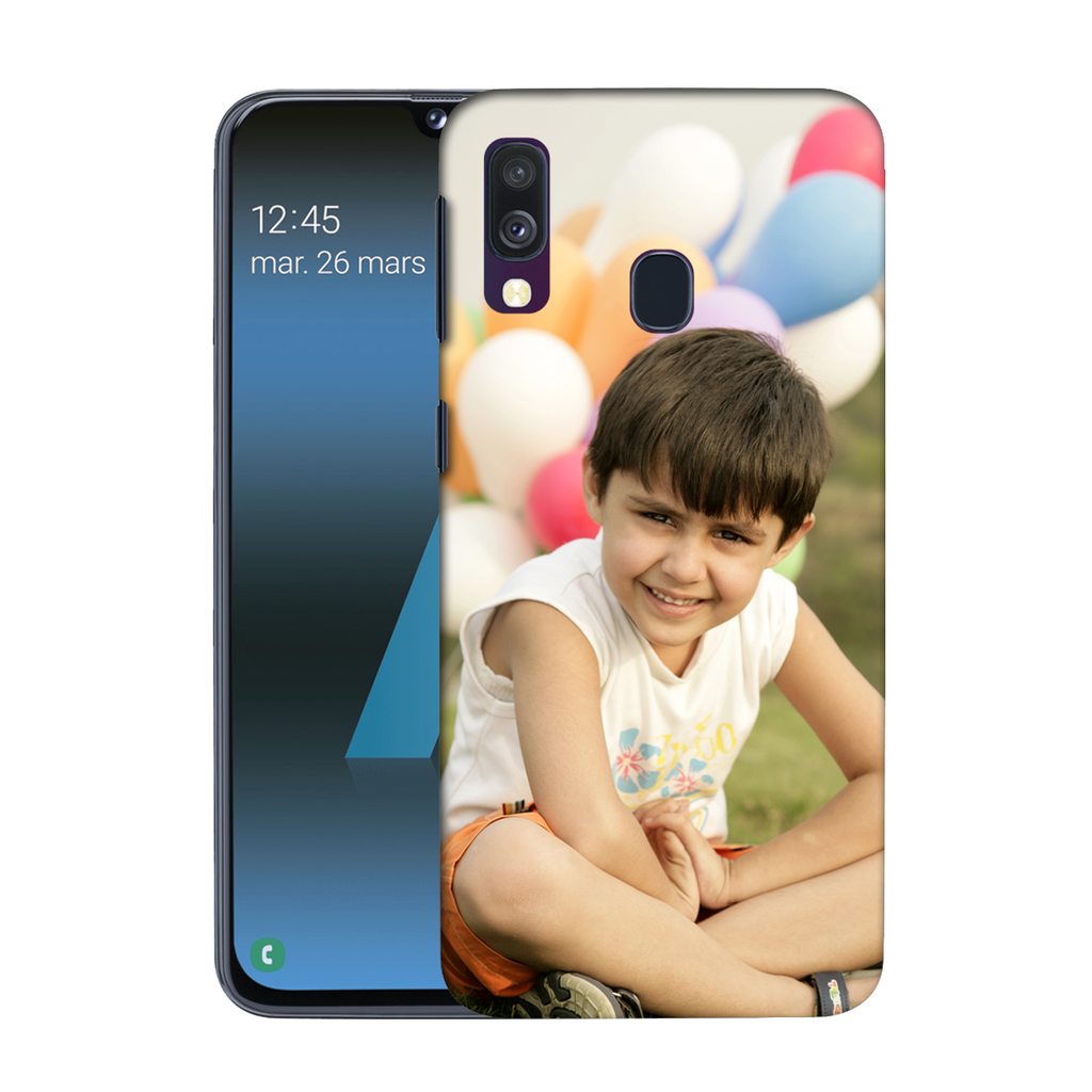 Buy Customised Samsung Galaxy A40 Mobile Covers/ Cases Online India - Zestpics