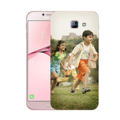 Buy Personalized Samsung A8 2016 Mobile Back Covers/Cases. Design your own Customized Mobile Case for Samsung A8 2016 with your own Photos, Text online & Make it Unique. Customize Now! Buy Custom Printed Personalized Mobile Covers/ Skins in India at Zestpics. Mobile Skins, Customized Mobile Phone Skins online in India.