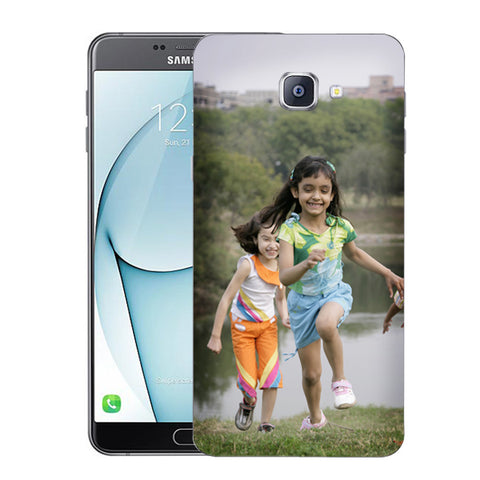 Buy Personalized Samsung A9 Mobile Back Covers/Cases. Design your own Customized Mobile Case for Samsung A9 with your own Photos, Text online & Make it Unique. Customize Now! Buy Custom Printed Personalized Mobile Covers/ Skins in India at Zestpics. Mobile Skins, Customized Mobile Phone Skins online in India.