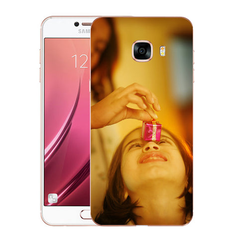 Buy Personalized Samsung C5 Mobile Back Covers/Cases. Design your own Customized Mobile Case for Samsung C5 with your own Photos, Text online & Make it Unique. Customize Now! Buy Custom Printed Personalized Mobile Covers/ Skins in India at Zestpics. Mobile Skins, Customized Mobile Phone Skins online in India.