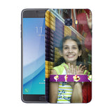 Buy Personalized Samsung C7 Pro Mobile Back Covers/Cases. Design your own Customized Mobile Case for Samsung C7 Pro with your own Photos, Text online & Make it Unique. Customize Now! Buy Custom Printed Personalized Mobile Covers/ Skins in India at Zestpics. Mobile Skins, Customized Mobile Phone Skins online in India.