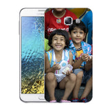 Buy Personalized Samsung E7 Mobile Back Covers/Cases. Design your own Customized Mobile Case for Samsung E7 with your own Photos, Text online & Make it Unique. Customize Now! Buy Custom Printed Personalized Mobile Covers/ Skins in India at Zestpics. Mobile Skins, Customized Mobile Phone Skins online in India.
