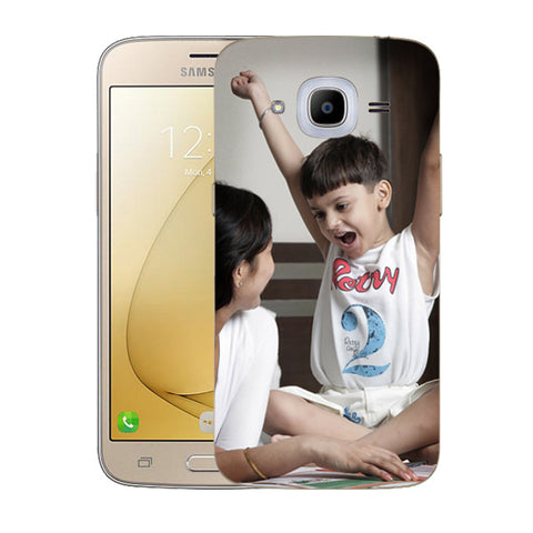 Buy Personalized Samsung J2 (2016) Mobile Back Covers/Cases. Design your own Customized Mobile Case for Samsung J2 (2016) with your own Photos, Text online & Make it Unique. Customize Now! Buy Custom Printed Personalized Mobile Covers/ Skins in India at Zestpics. Mobile Skins, Customized Mobile Phone Skins online in India.