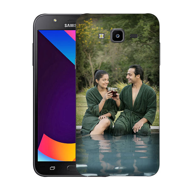 Buy Personalized Samsung J7 Nxt Mobile Back Covers/Cases. Design your own Customized Mobile Case for Samsung J7 Nxt with your own Photos, Text online & Make it Unique. Customize Now! Buy Custom Printed Personalized Mobile Covers/ Skins in India at Zestpics. Mobile Skins, Customized Mobile Phone Skins online in Indi