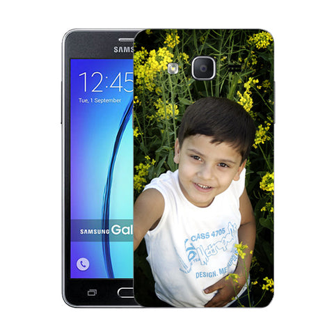 Buy Personalized Samsung On5 (2015) Mobile Back Covers/Cases. Design your own Customized Mobile Case fo rSamsung On5 (2015) with your own Photos, Text online & Make it Unique. Customize Now! Buy Custom Printed Personalized Mobile Covers/ Skins in India at Zestpics. Mobile Skins, Customized Mobile Phone Skins online in India.
