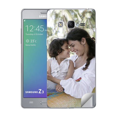 Samsung Z3 Mobile Back Covers and Cases Online India - Zestpics