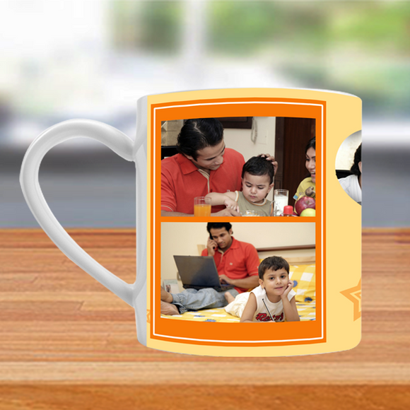 Buy & Send Mugs for Dad | Photo Tea Mugs for Father online at Zestpics