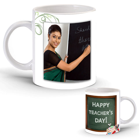 Buy Teacher's Day Gifts, Coffee Mugs Online in India with Custom Photo Printing - Zestpics, Hyderabad, India