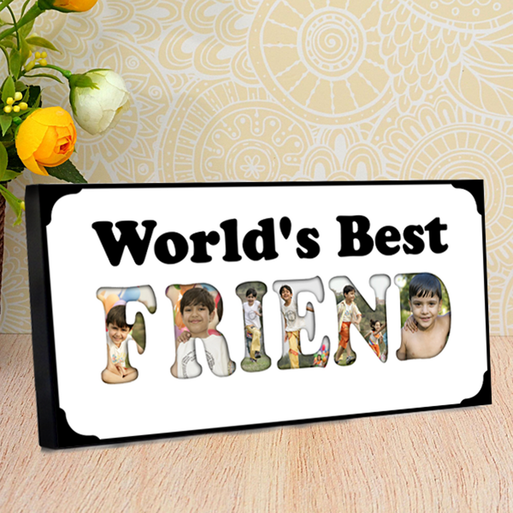 Personalized Gifts for Friends at Zestpics | Personalized Best Friend Photo Frame
