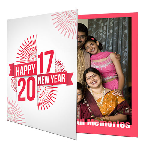 Happy New Year 2017 Greeting Card-Greeting Cards-Zestpics