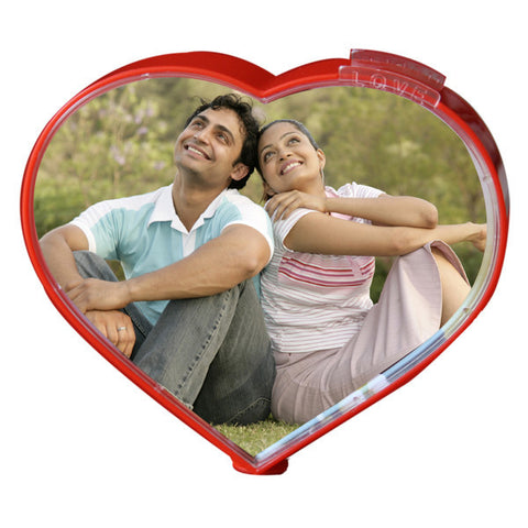 Magic Heart Rotating Frame-Photo Gifts-Zestpics