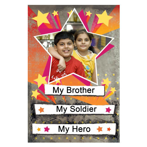Fridge Magnet BROTHER AND SISTER Personalized Free