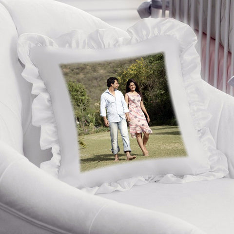 buy custom cushion covers online, personalized cushion covers, photo cushions | Square Pillow-Cushions & Pillows-Zestpics