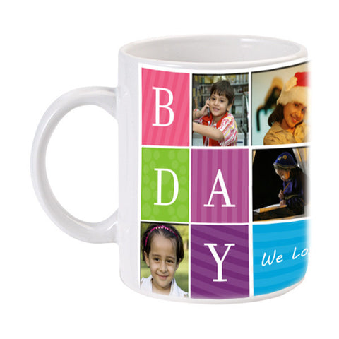 White Mug - Birthday-Mugs-Zestpics