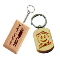 Create Personalized Custom Photo Wood Engraved Keychains - Zestpics