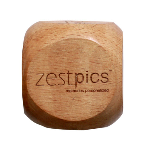 Personalized Wooden Paper Weight with your Company Name & Logo - Zestpics