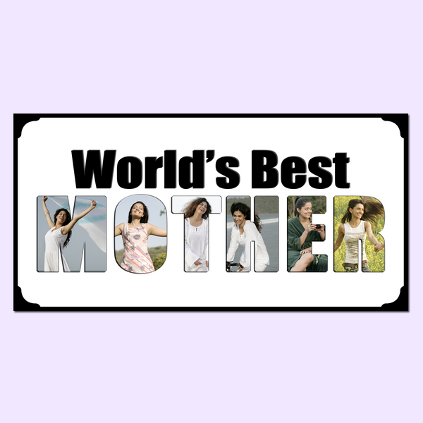 World's Best Mother Photo Frame, Mother Gifts, Buy Mother Gifts, Gifts for Mother Online