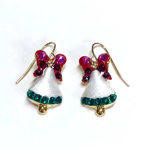 Christmas Bell Earrings - Christmas Jewelry