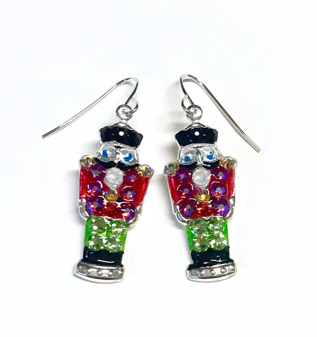 Nutcracker Earrings - Nutcracker Jewelry - Christmas Earrings
