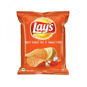 LAYS HOT & SWEET CHILLY