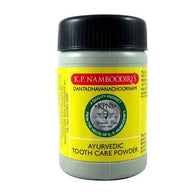 KP NAMBOODIRIS   AYURVEDIC TOOTH CARE POWDER