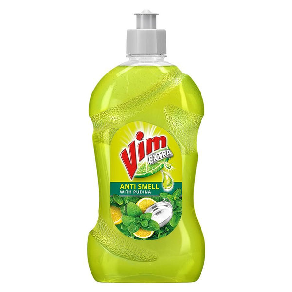 VIM EXTRA LIQUID ANTI SMELL WITH PUDINA