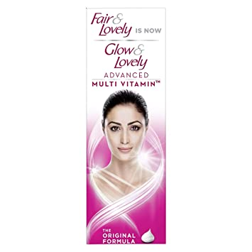 FAIR AND LOVELY IS NOW GLOW & LOVELY ADVANCED MULTI VITAMIN FAIRNESS SOLUTION
