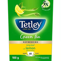 TETLEY GREEN TEA LEMON 100 GM