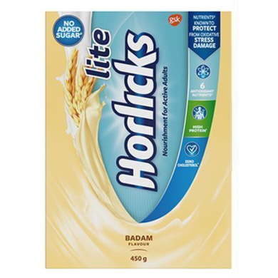 HORLICKS LITE BADAM FLAVOUR PACKET