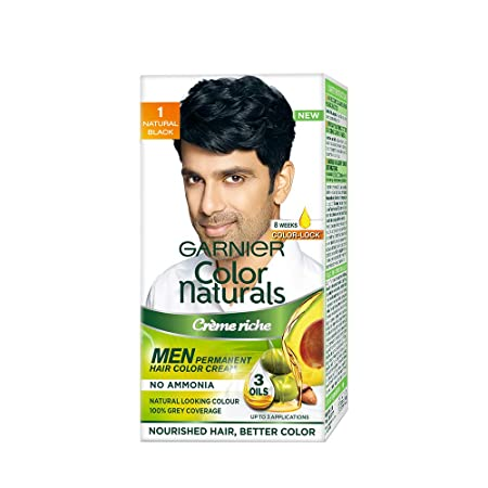 GARNIER COLOR NATURALS CREAM MEN 1 NATURAL BLACK