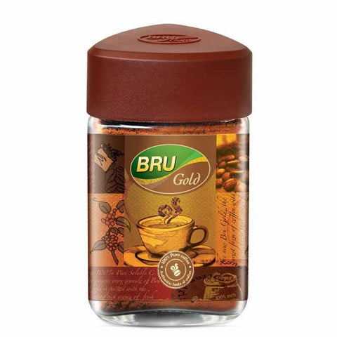 BRU GOLD JAR