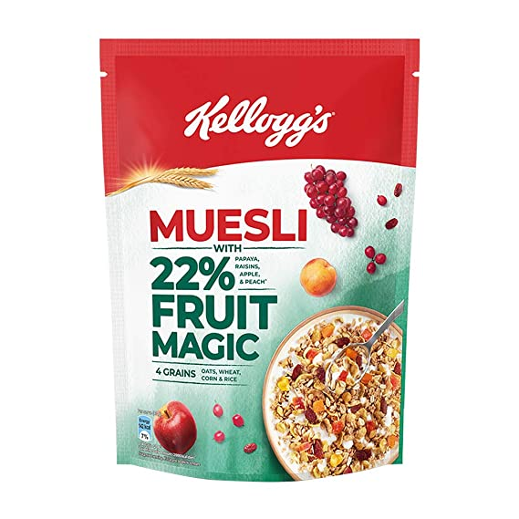KELLOGG'S MUESLI WITH 22% FRUIT MAGIC