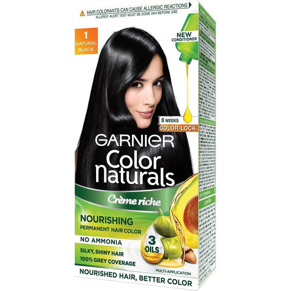 GARNIER COLOR NATURALS CREAM 1 NATURAL BLACK
