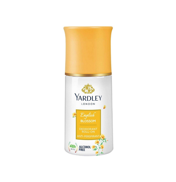 YARDLEY LONDON ENGLISH BLOSSOM DEODORANT ROLL ON