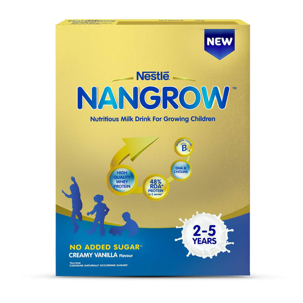 NESTLE NANGROW CREAMY VANILLA FLAVOUR FOR 2 TO 5 YEARS