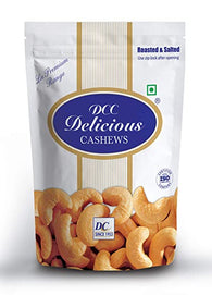 DELICIOUS CASHEWS ROASTED SALTED