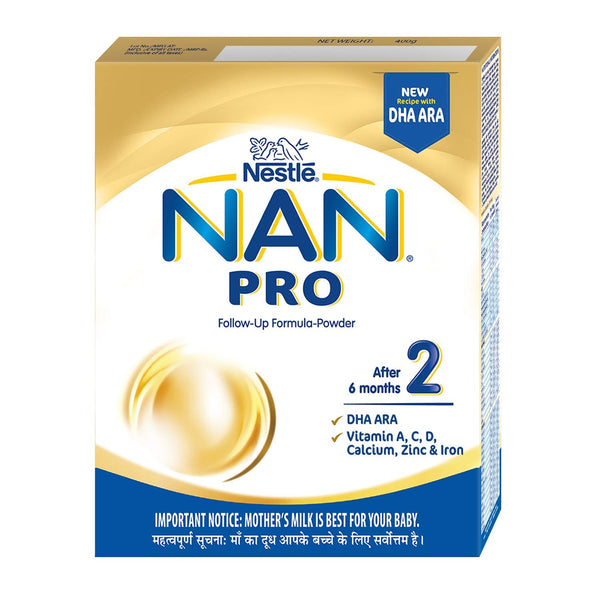 NESTLE NAN PRO STAGE 2 AFTER 6 MONTHS