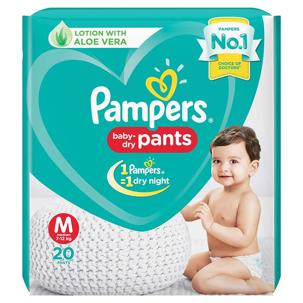 PAMPERS  PANTS M