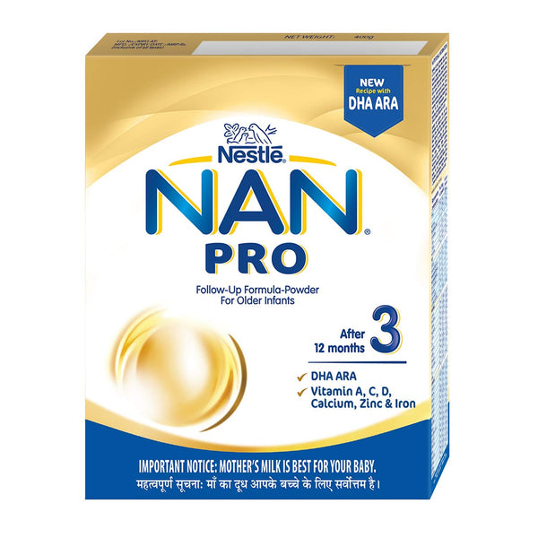 NESTLE NAN PRO STAGE 3 AFTER 12 MONTHS