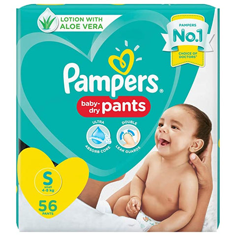 PAMPERS PANTS S