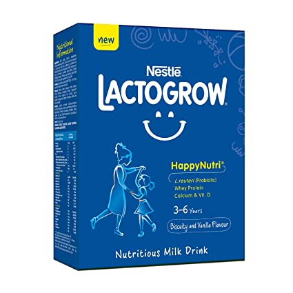 NESTLE LACTOGROW NUTRICIOUS MILK DRINK FROM 3 TO 6 YEARS