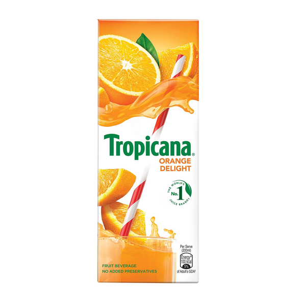 TROPICANA ORANGE DELIGHT JUICE